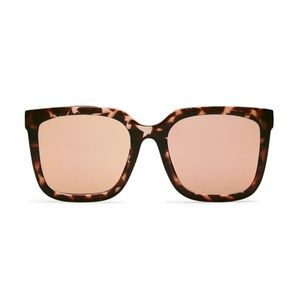 Quay Genesis Tortoiseshell Sunglasses Pink Lense